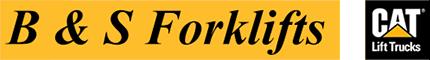 B & S Forklifts Logo